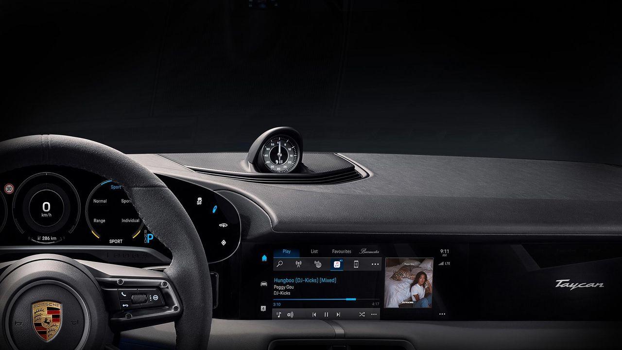 Porsche Taycan kommer med Apple Music