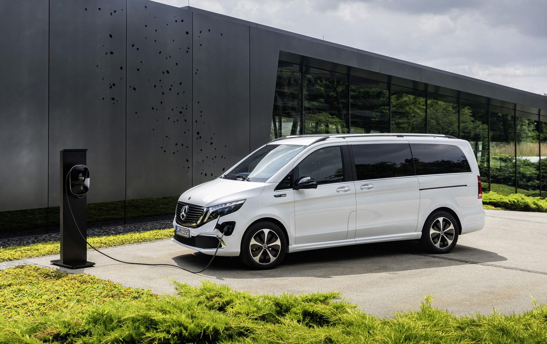 Mercedes rullar ut eldrivna minibussen EQV