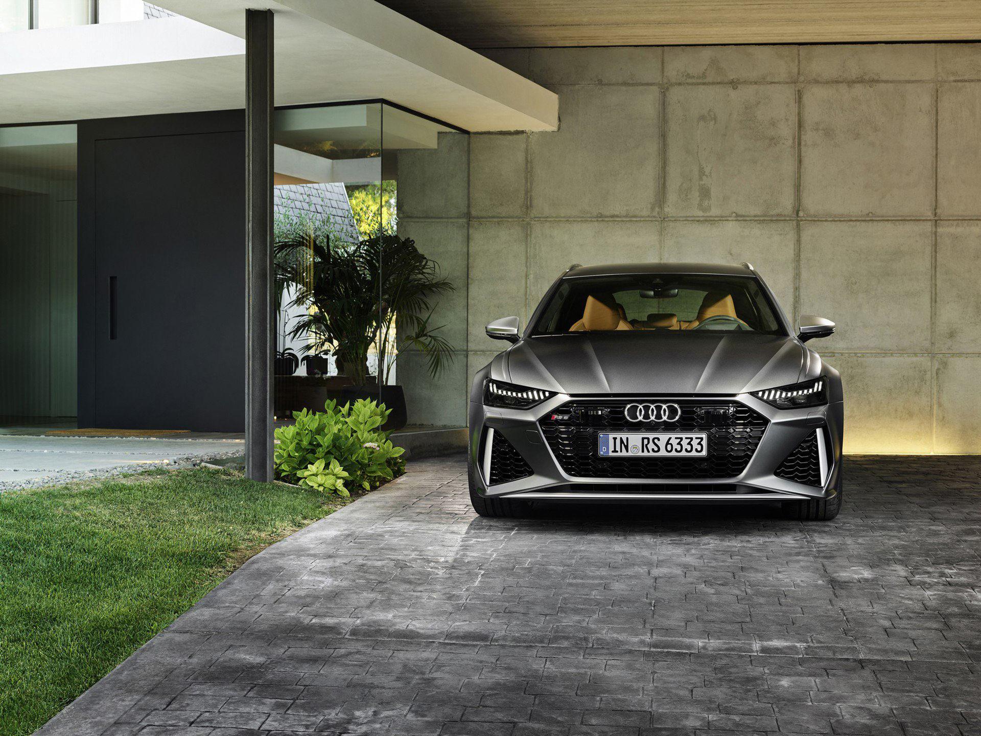 Nu är nya Audi RS 6 Avant här