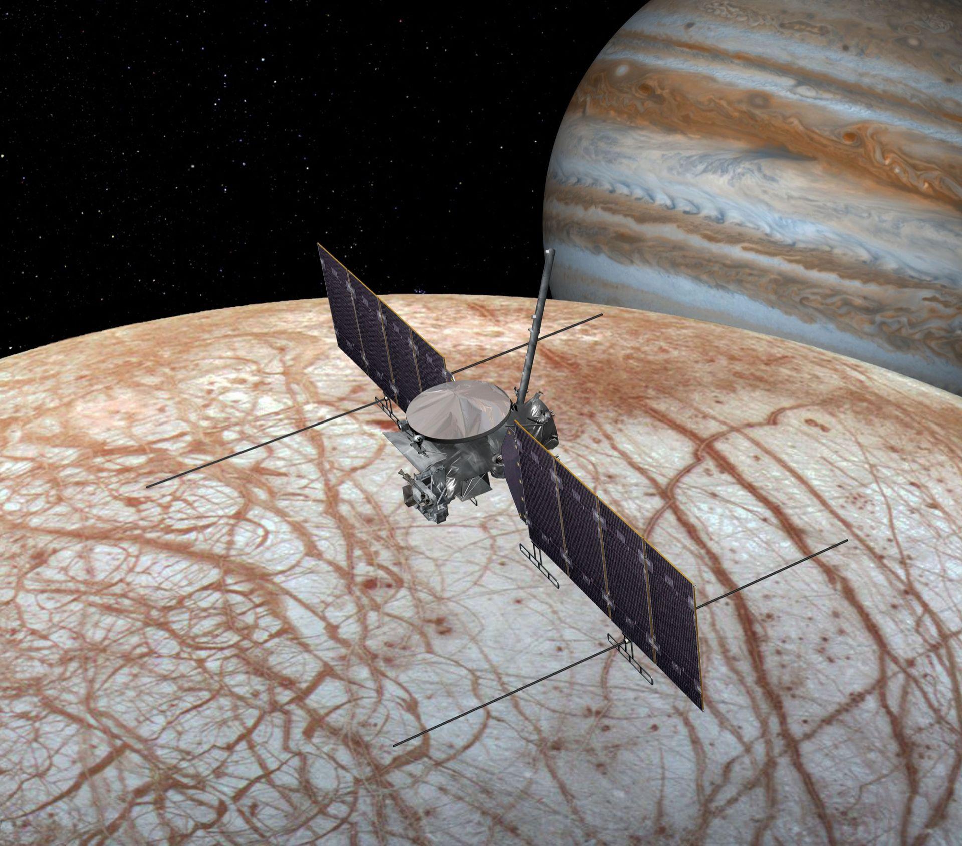 NASA ska på att åka till Jupiters måne Europa