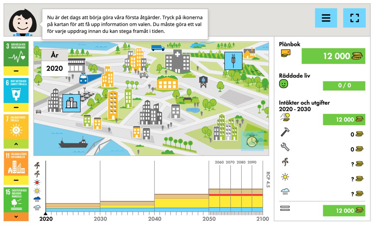 SMHI lanserar Klimatanpassningsspelet
