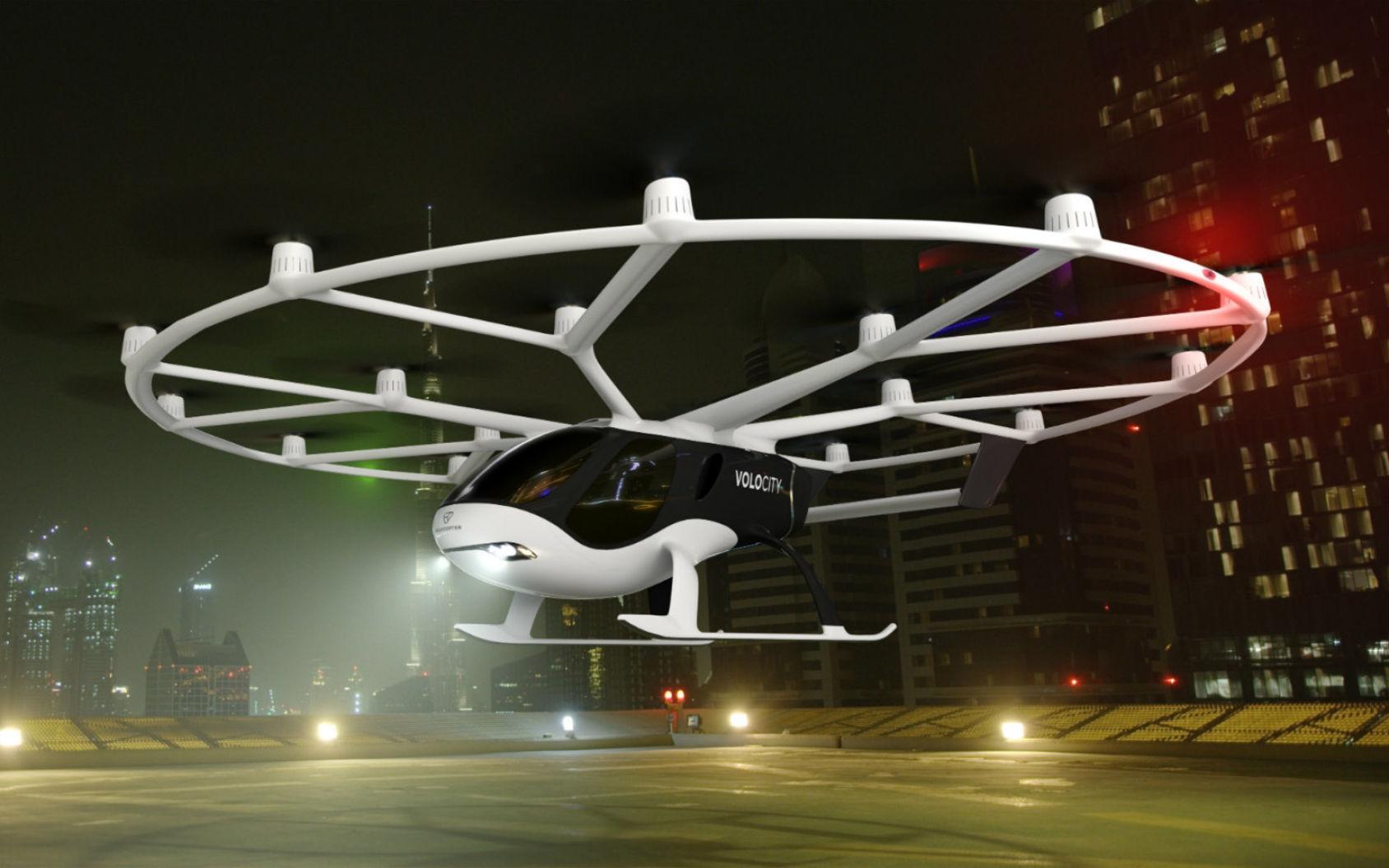 Volocopter presenterar VoloCity