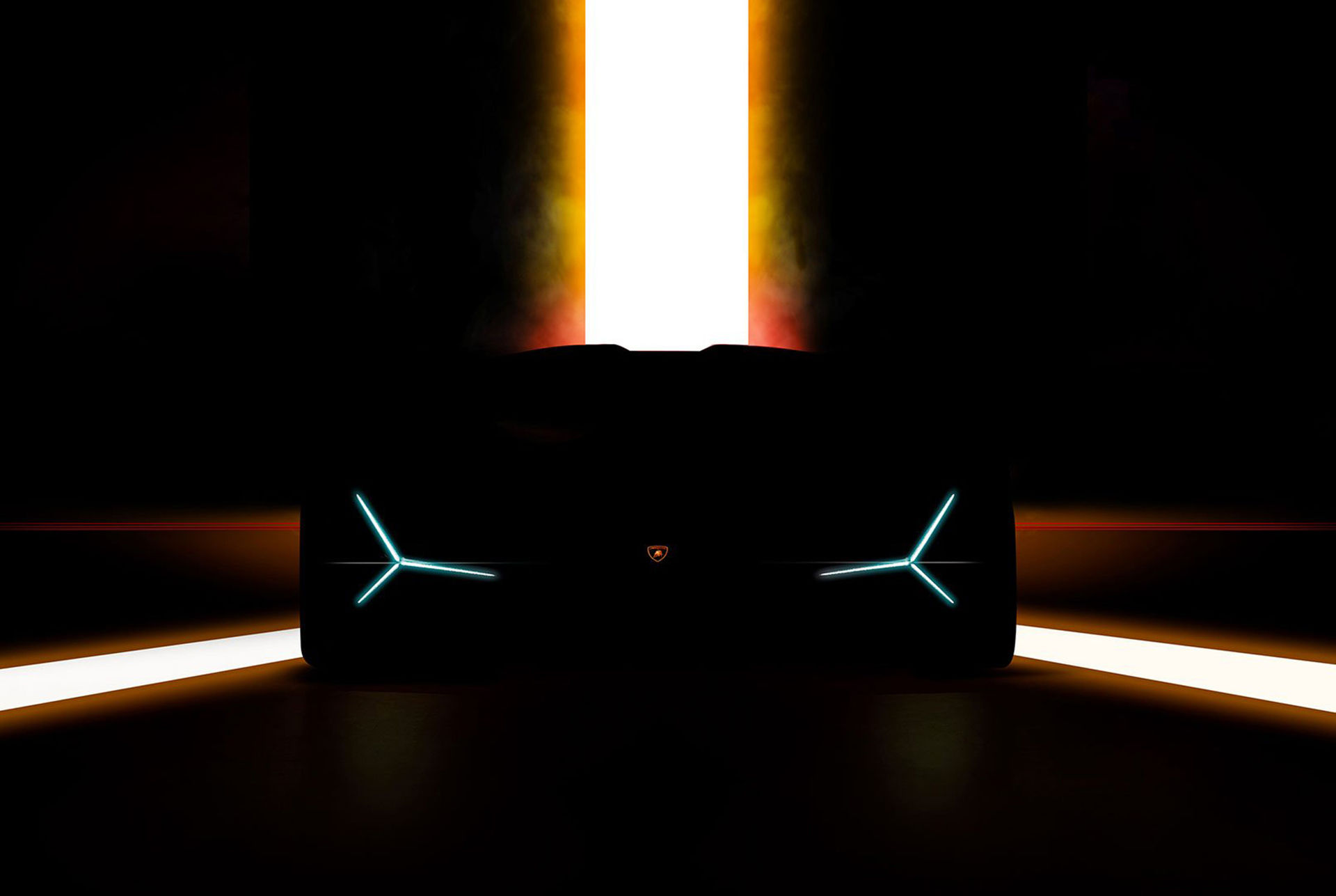 Lamborghini teasar ny modell