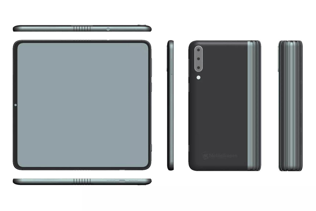 Skisser på två vikbara telefoner från TCL läcker ut