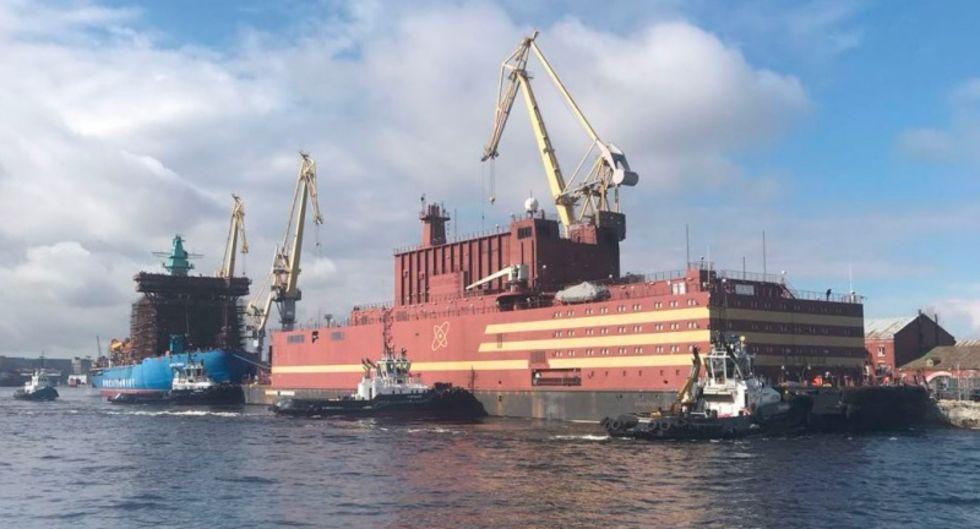 Nu har Rysslands flytande kärnkraftverk lagt ut