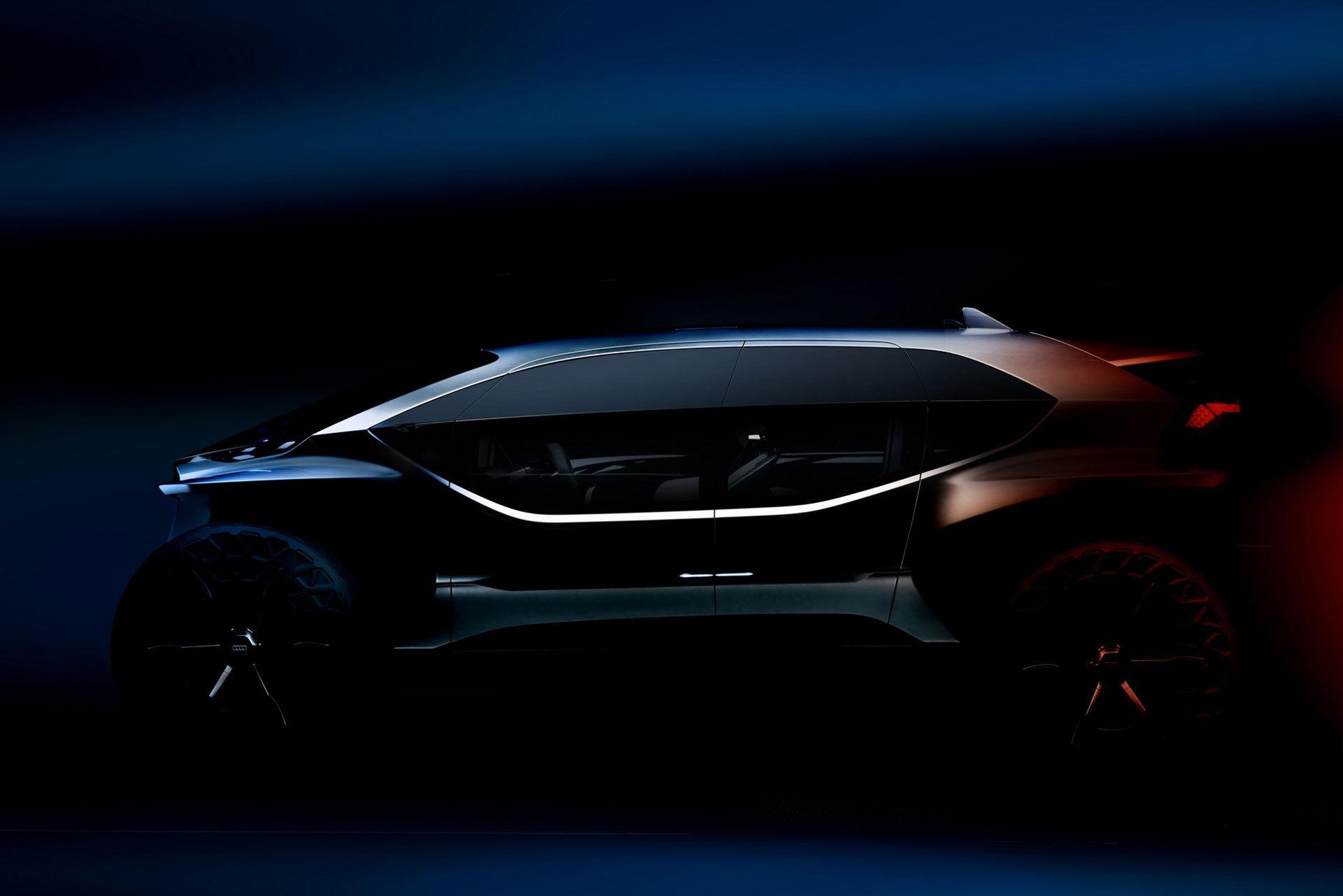 Audi släpper teaserbild på AI:Trail quattro concept