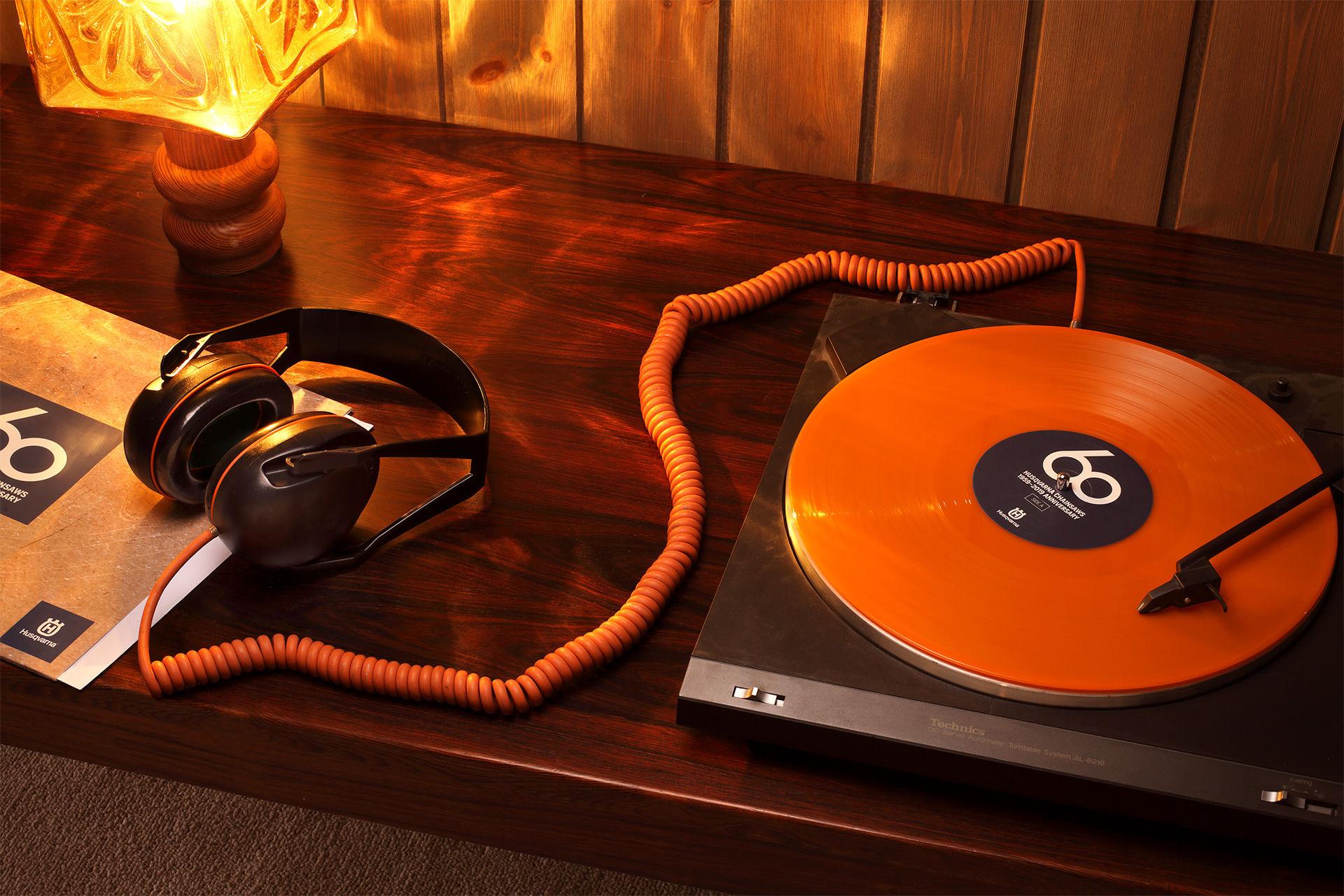 Husqvarna släpper platta med motorsågsljud