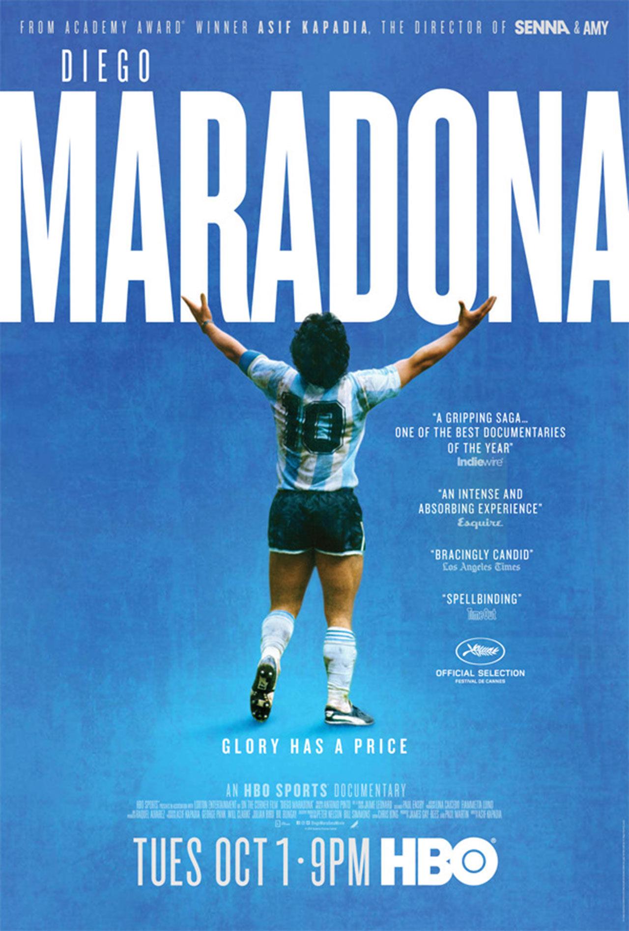 Teaser för dokumentären om Maradona