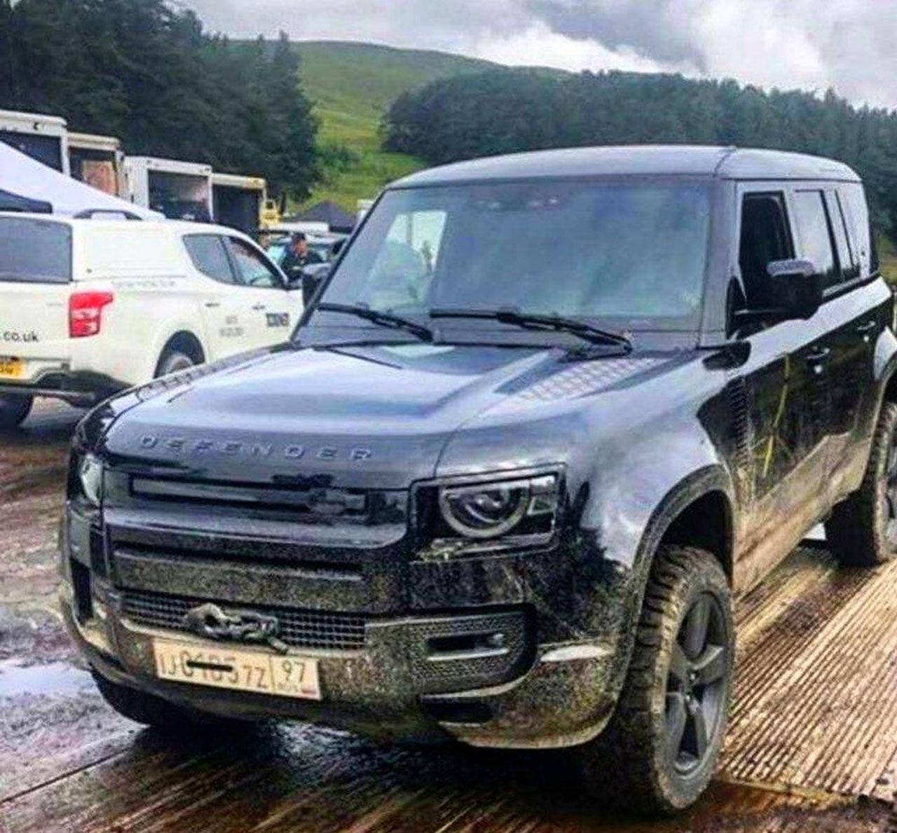 Nya Land Rover Defender läcker ut, igen