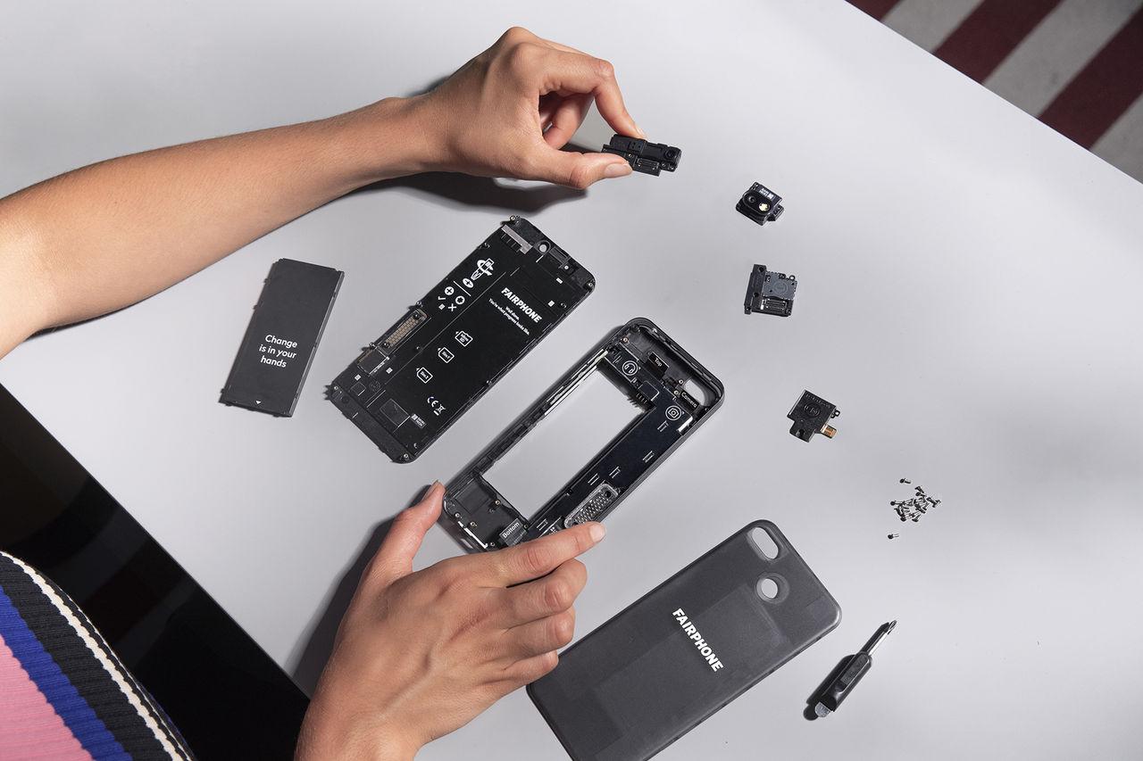 Fairphone presenterar en tredje telefon