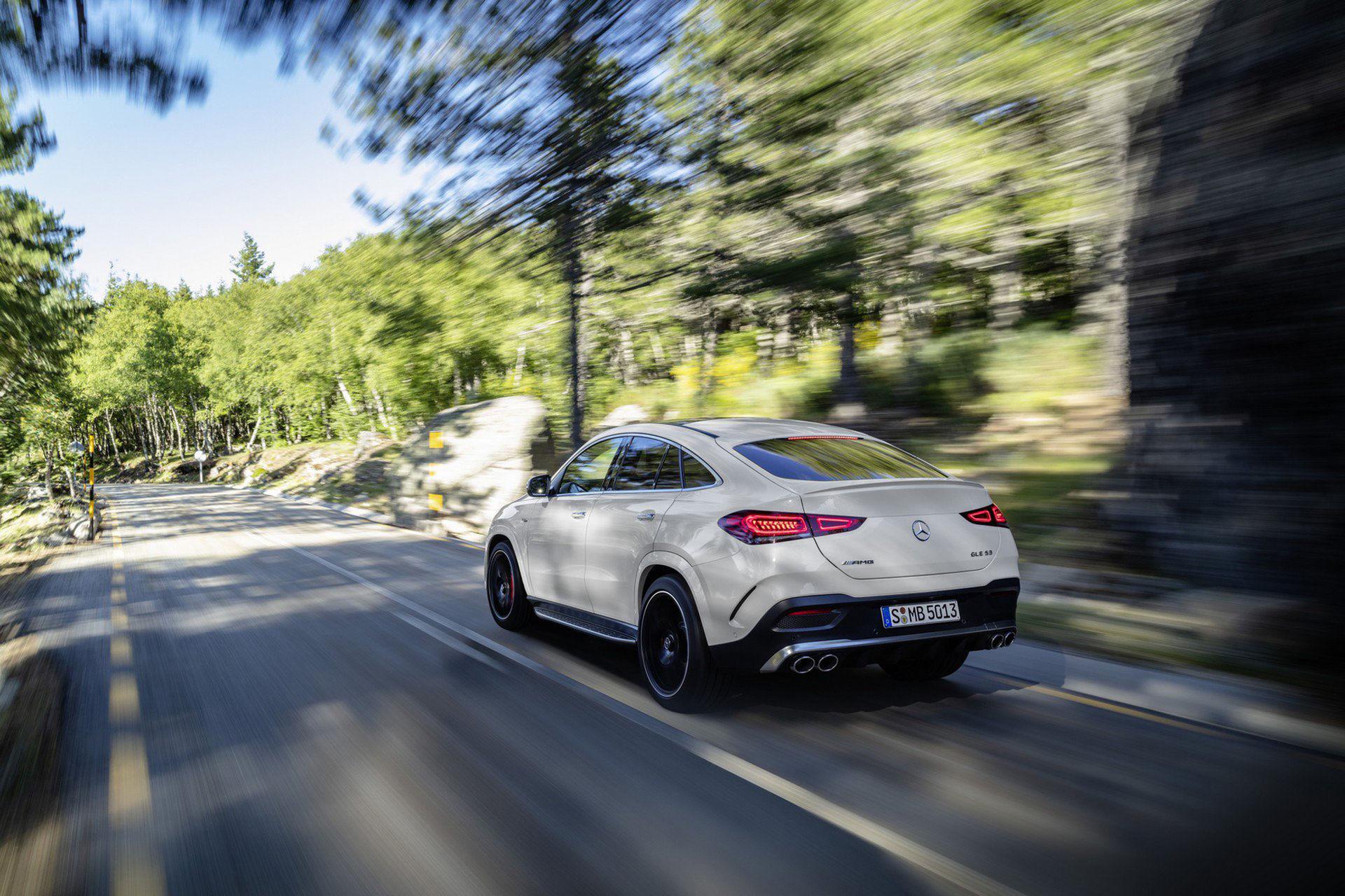 Här är uppdaterade Mercedes GLE Coupé