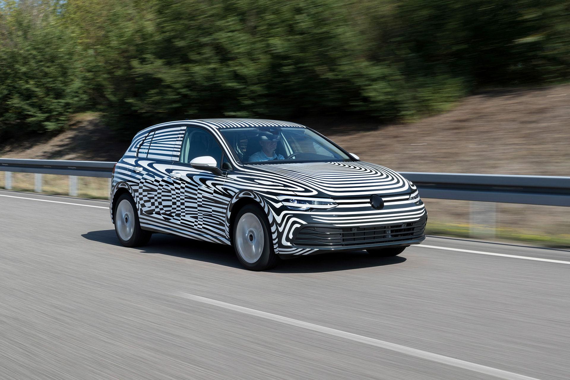 Volkswagen Golf MK8 har premiär i höst