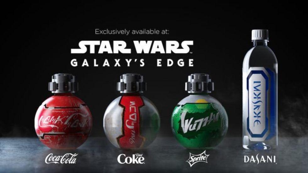 Coca-cola släpper Star Wars-flaskor som ser ut som bomber