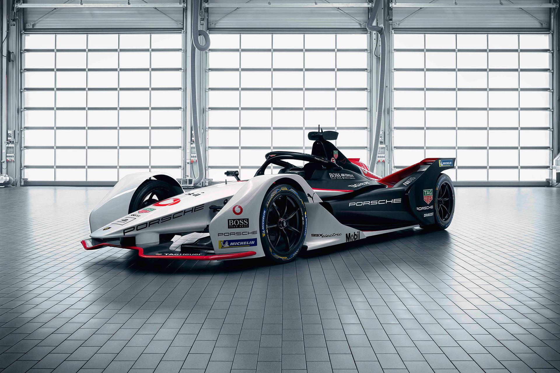 Bilen Porsche ska tävla med i Formel E