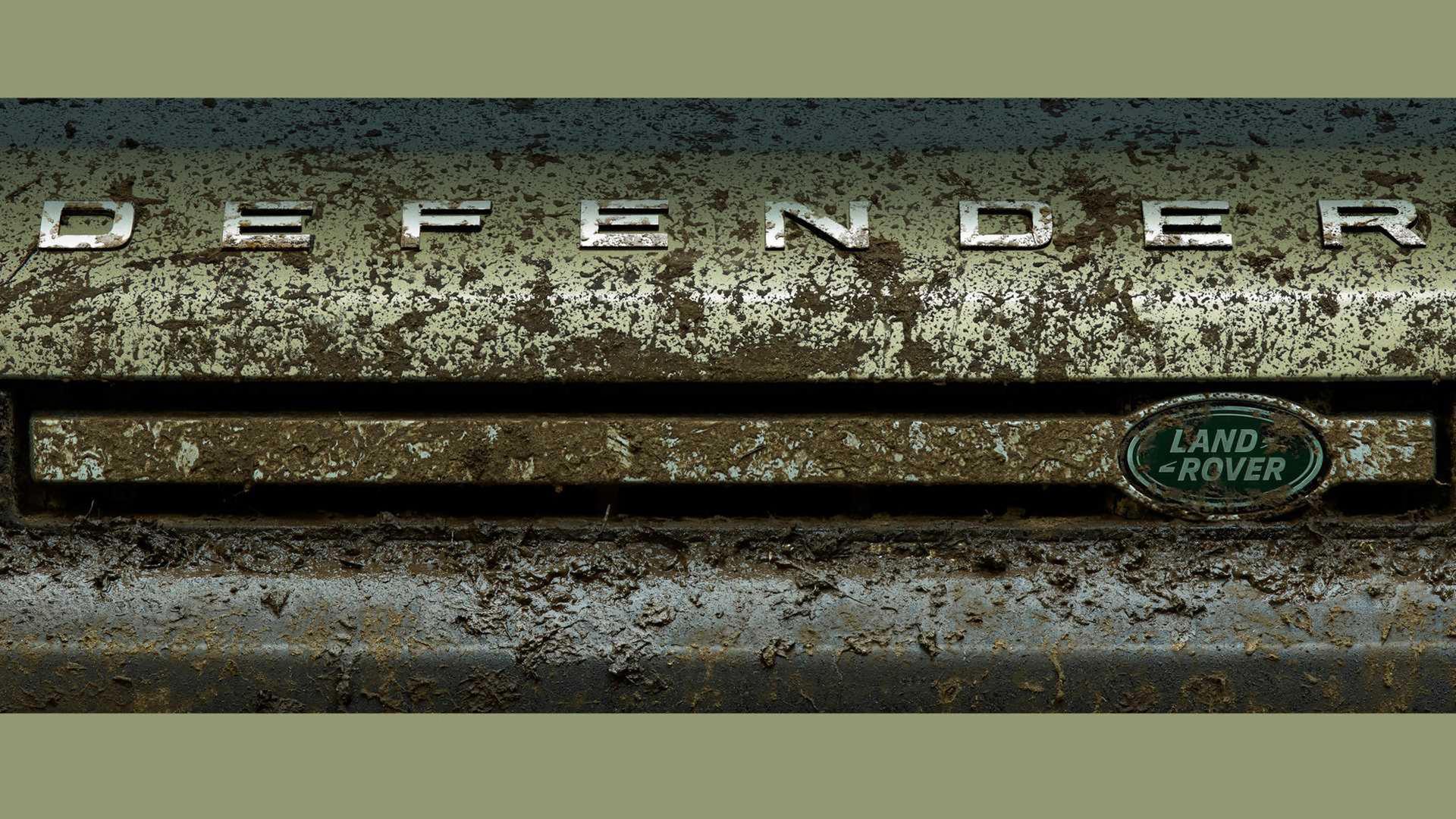 Land Rover börjar teasa nya Defender
