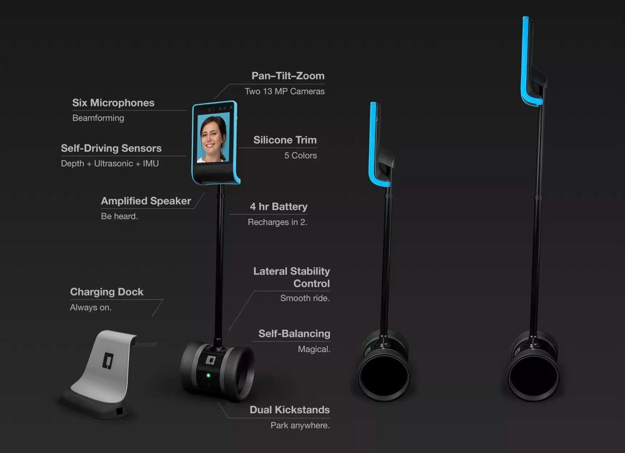 Enklare att navigera med telepresence-roboten Double 3