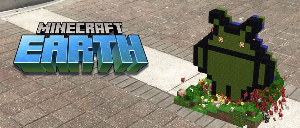 Nu släpps Minecraft Earth i betaversion till Android