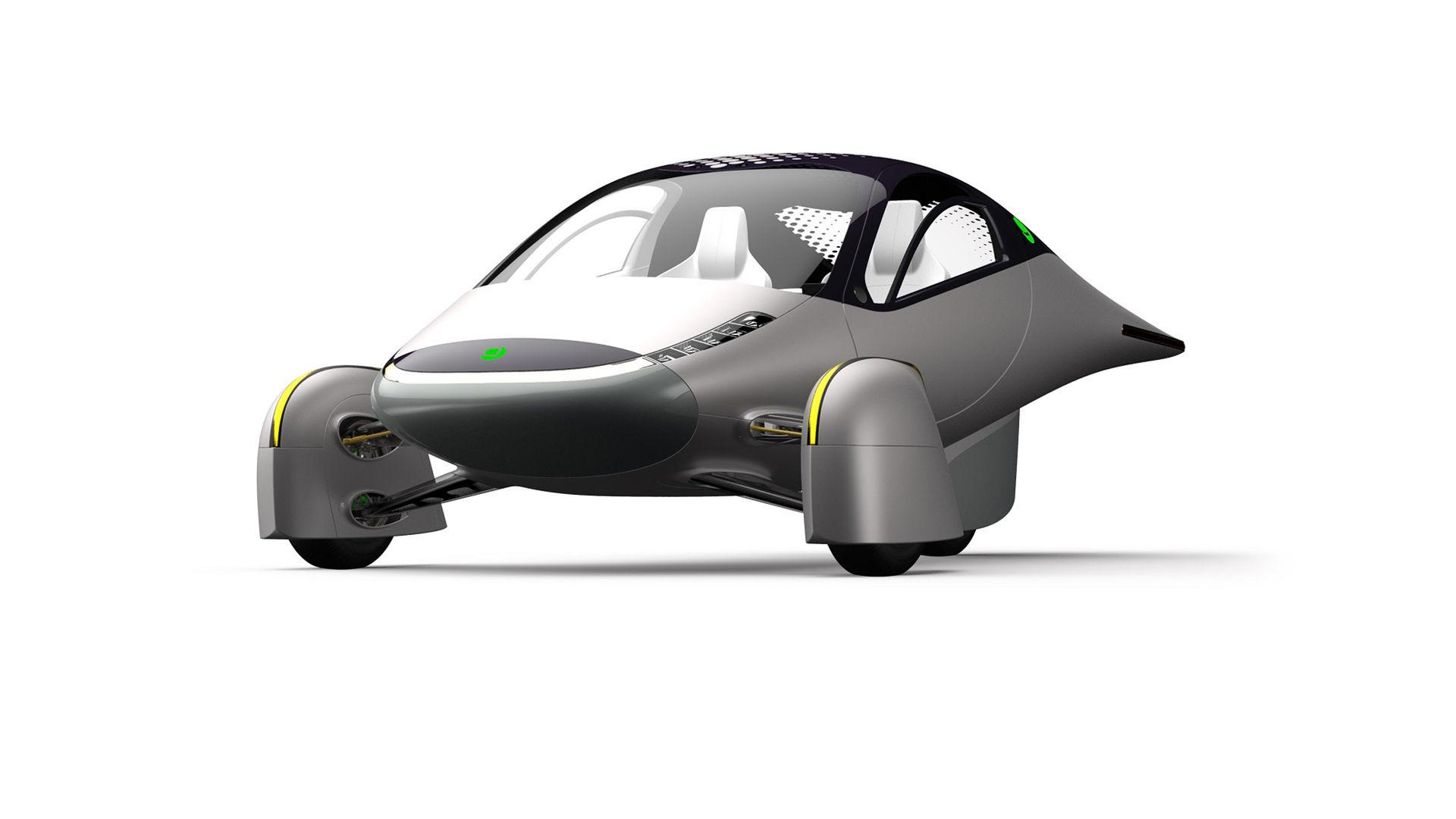 Apteras nya elbil ska ha 160 mil som räckvidd