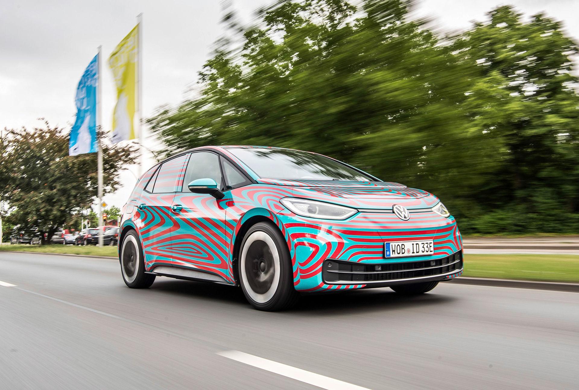 Snart presenterar Volkswagen eldrivna ID.3