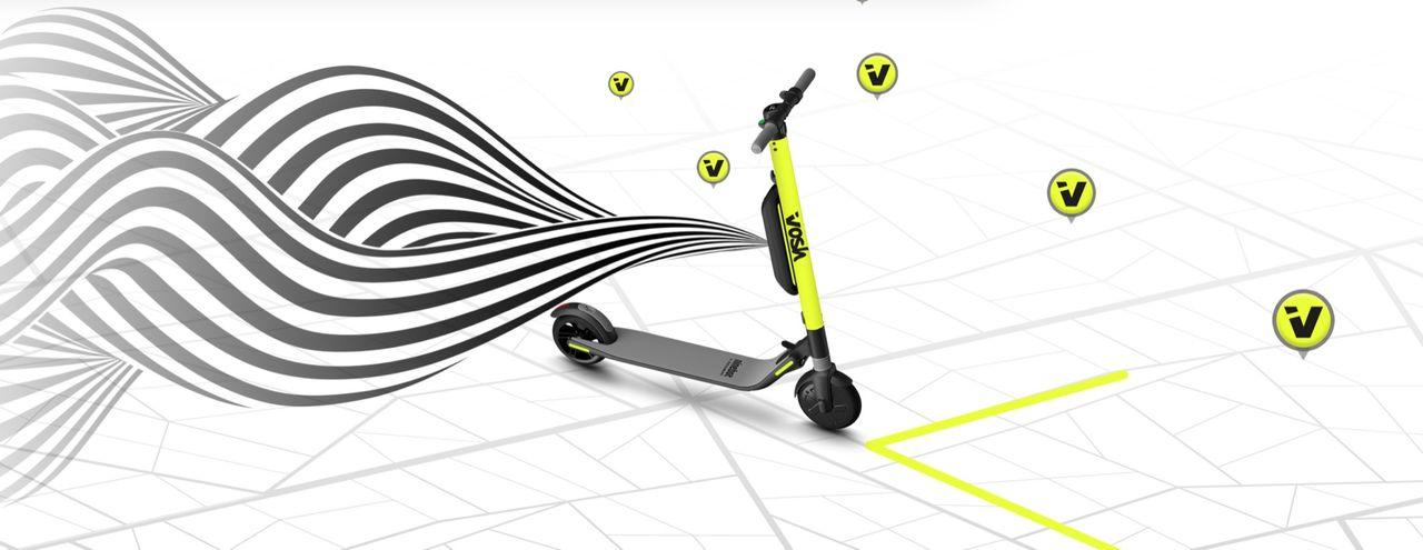 Nu lanseras elsparkcykeltjänsten Vosh i Stockholm