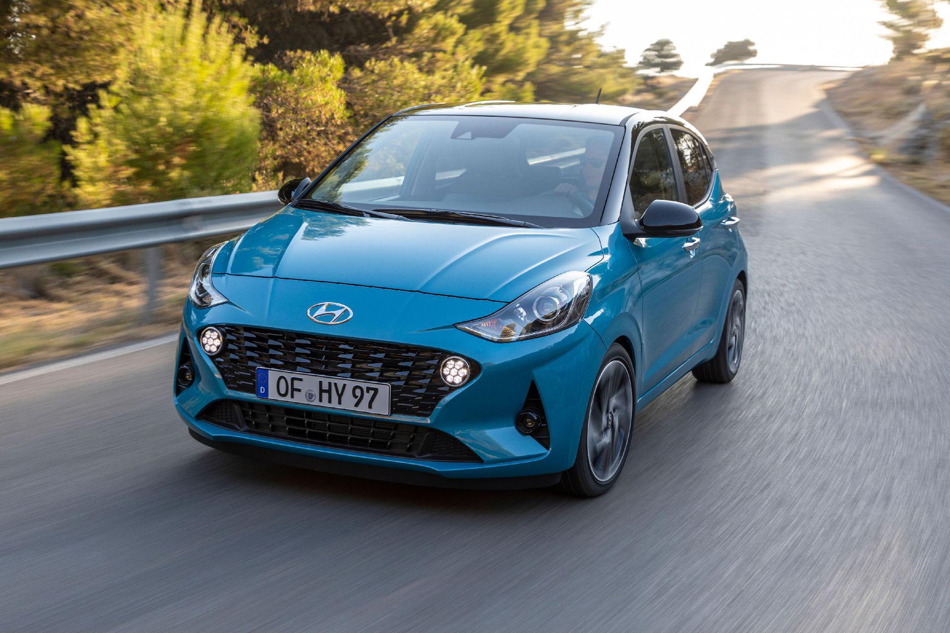 Hyundai presenterar nya i10