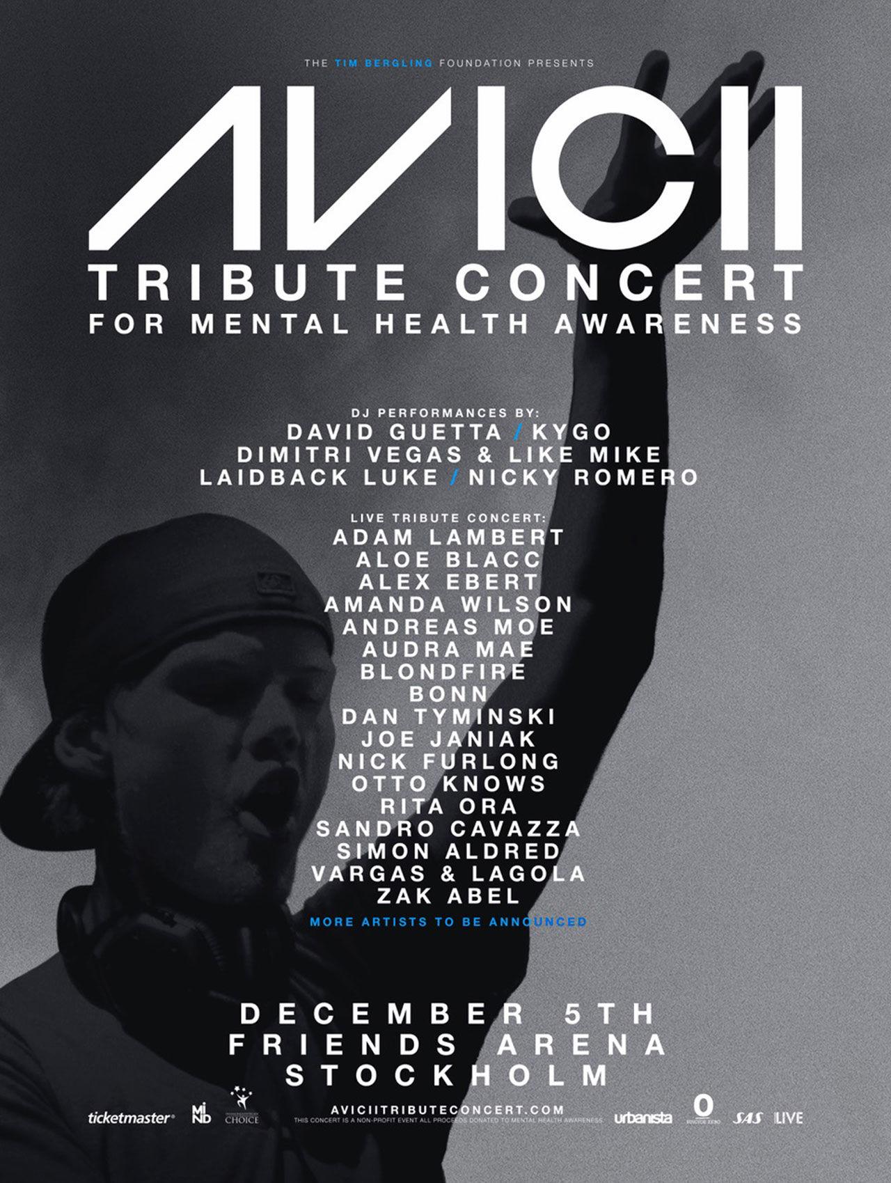 Välgörenhetskonsert med Aviciis musik