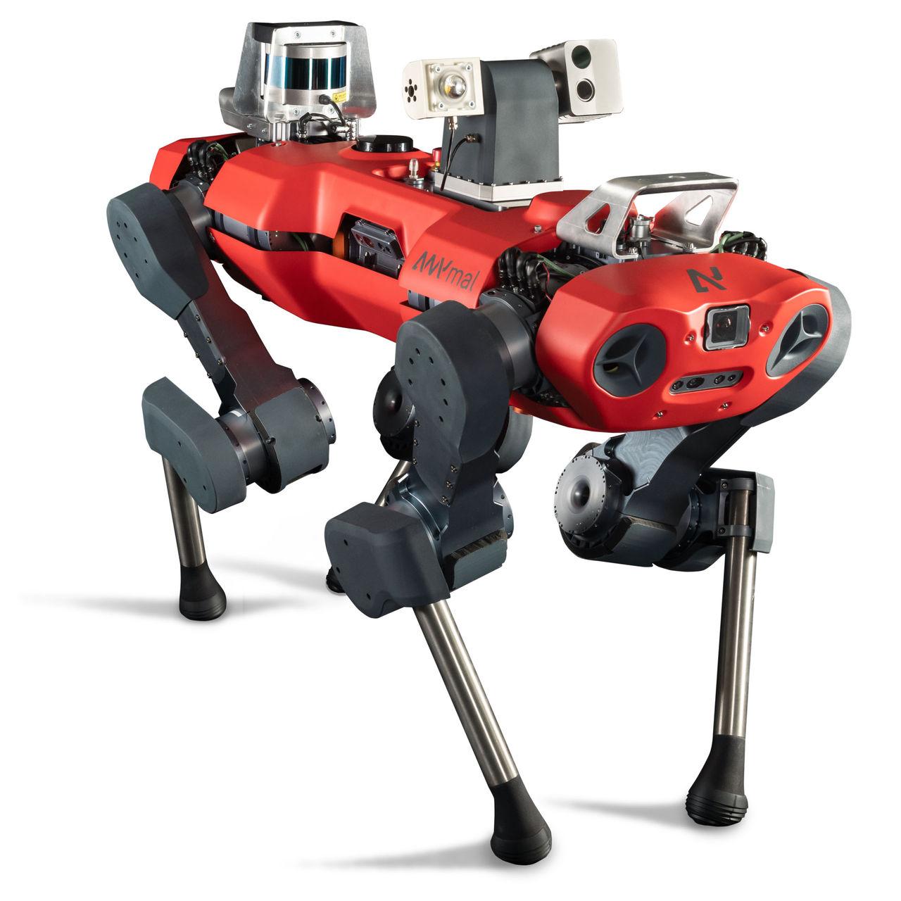 Anybotics visar upp ny version av roboten ANYmal