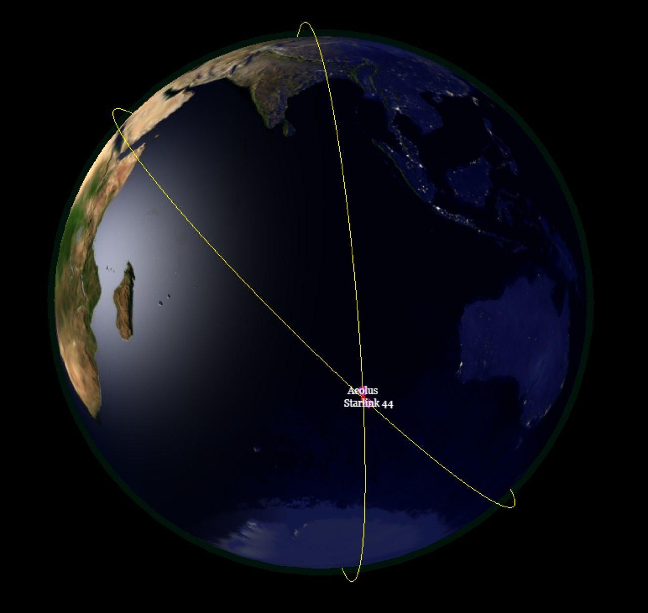 ESA flyttade en av sina satelliter från sin omloppsbana