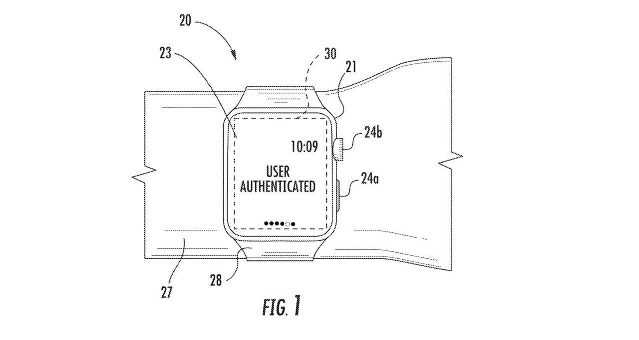 Apple tar patent på klockarmband som kan identifiera dig