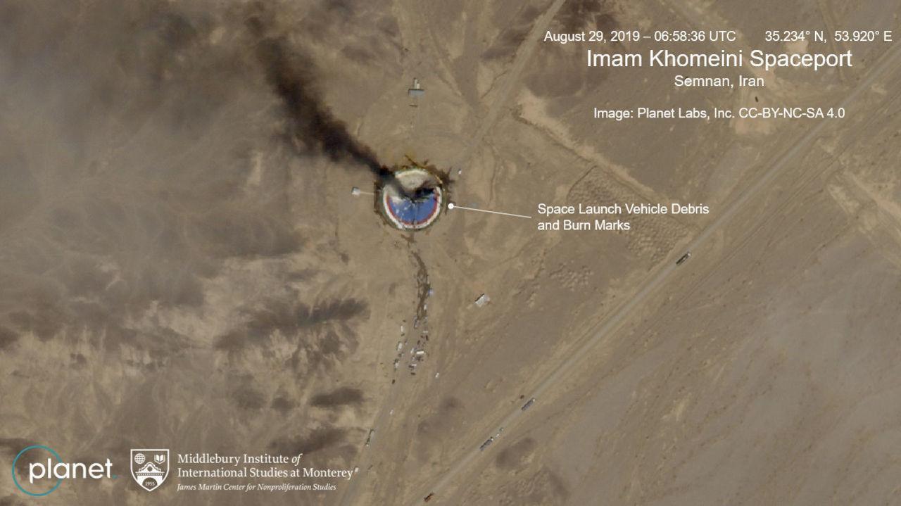 USA inför sanktioner mot iranska rymdorganisationer