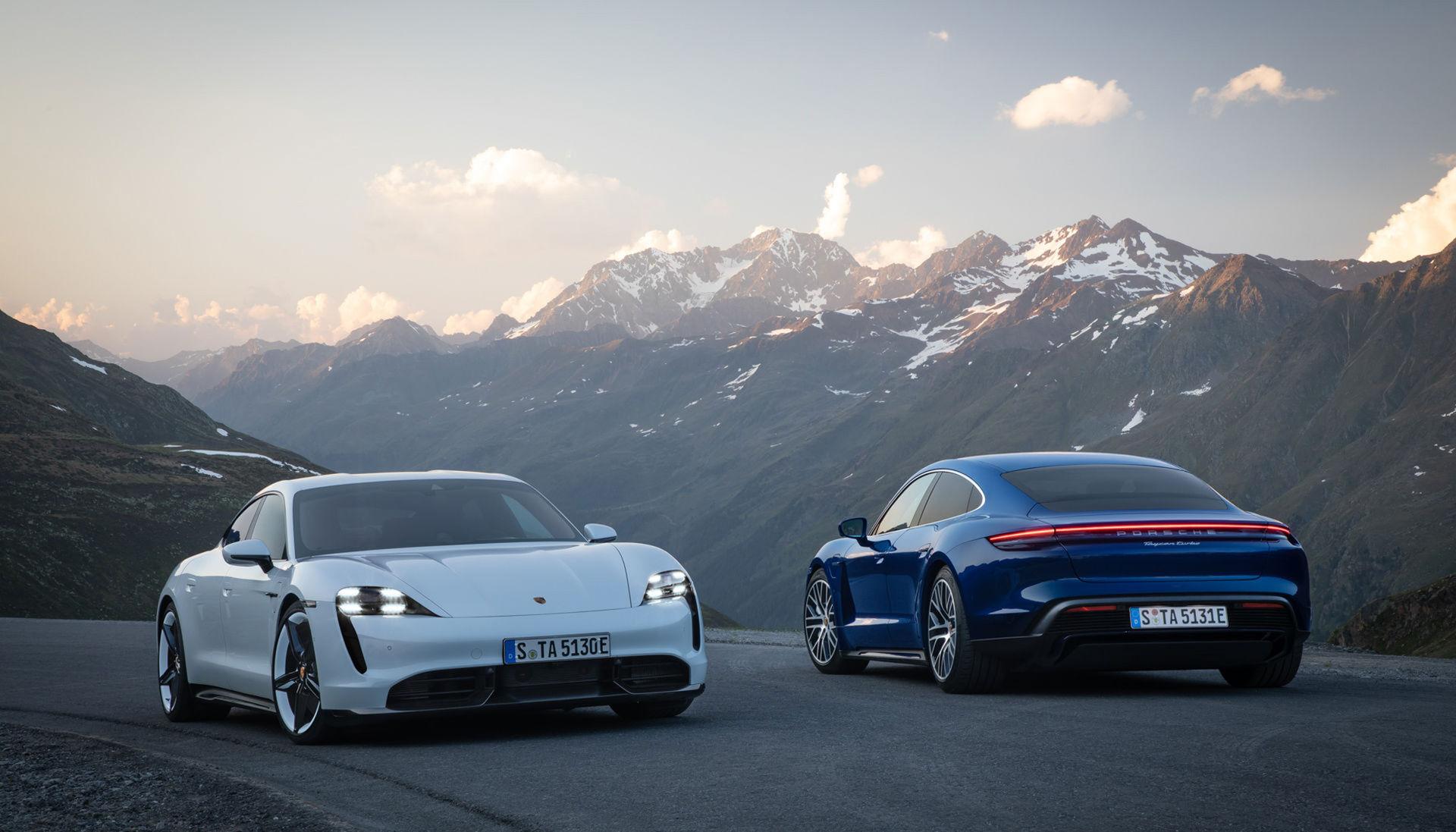Nu är den här - Porsches eldrivna modell Taycan