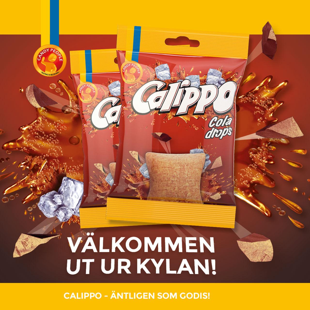 Glassen Calippo nu som karamell