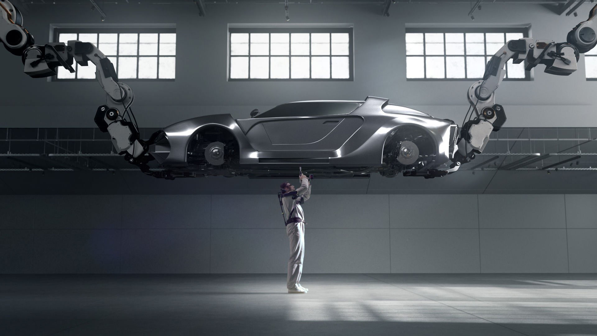 Hyundai visar nytt exoskelett