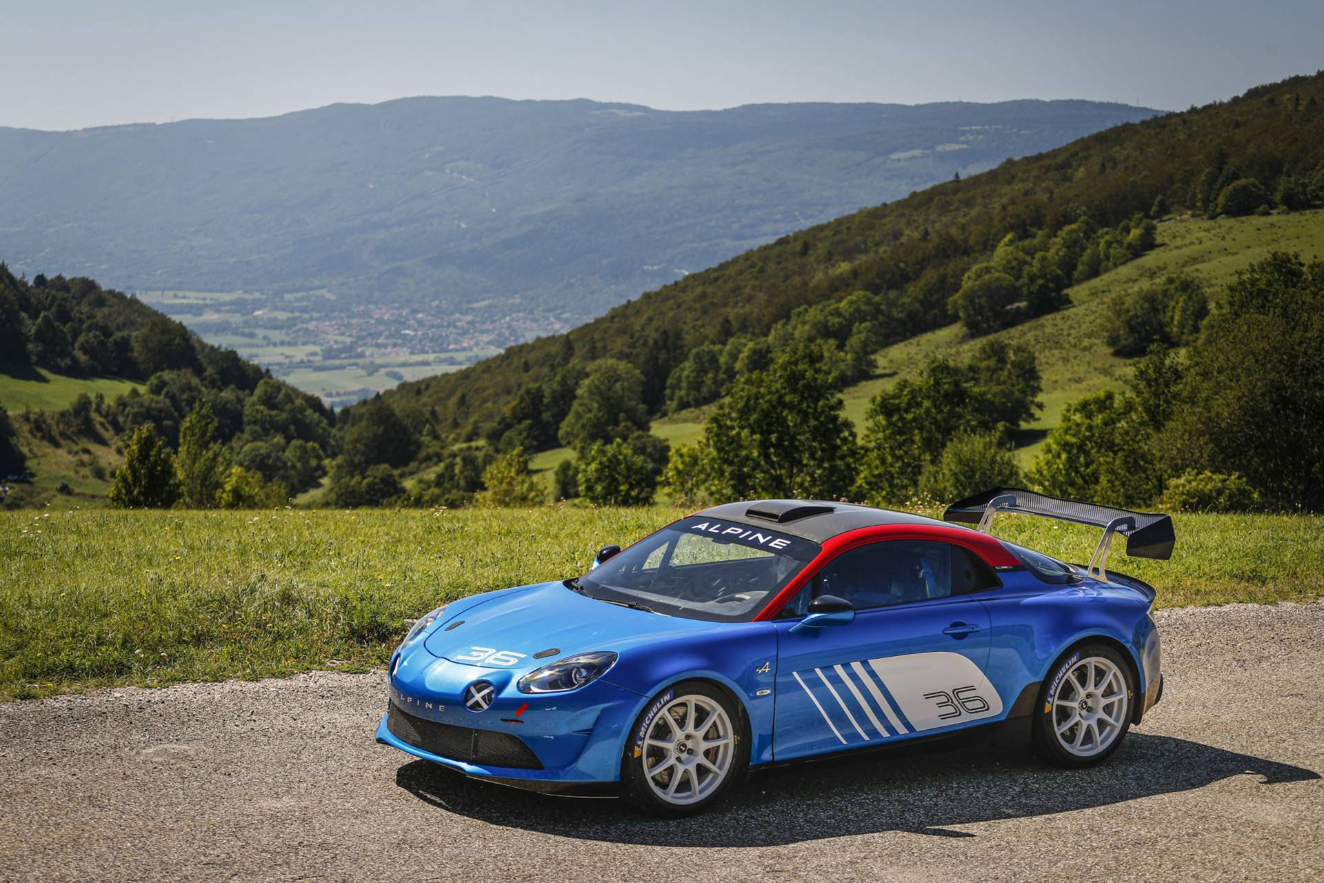 Alpine börjar köra rally igen