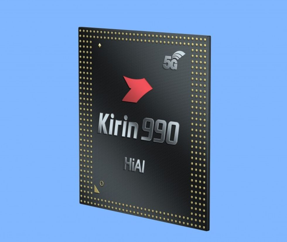 Huawei presenterar Kirin 990