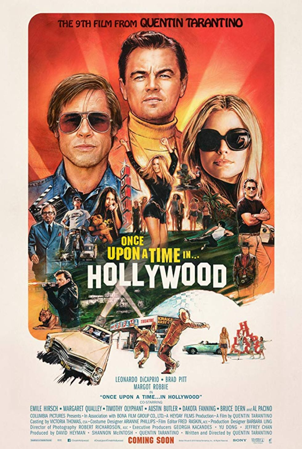 Once upon a time in Hollywood kan bli tv-serie