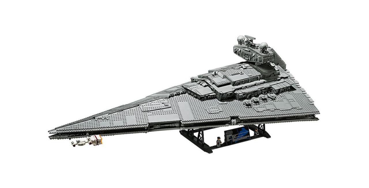 LEGO släpper ny version av Star Wars Imperial Destroyer