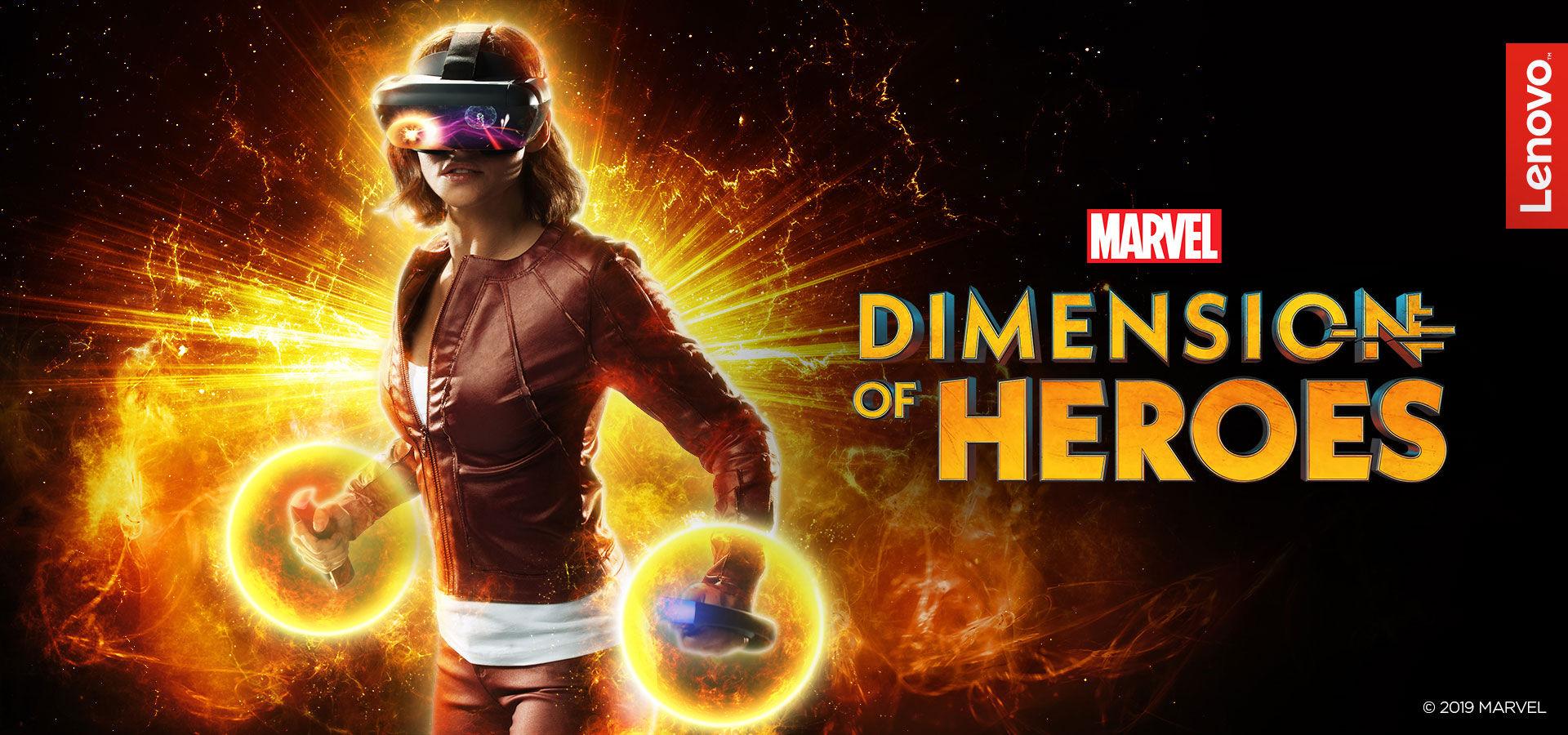 Lenovo visar upp Marvel: Dimension of Heroes