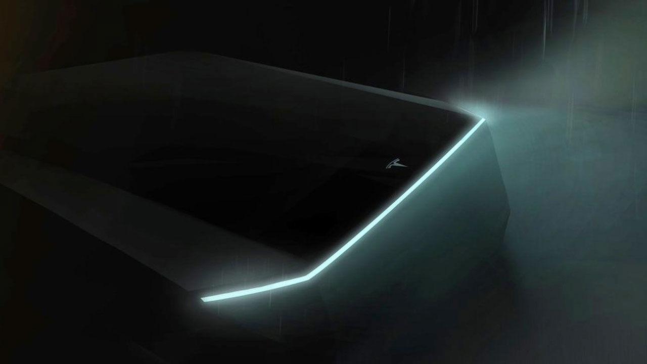 Teslas pickup kanske presenteras i november