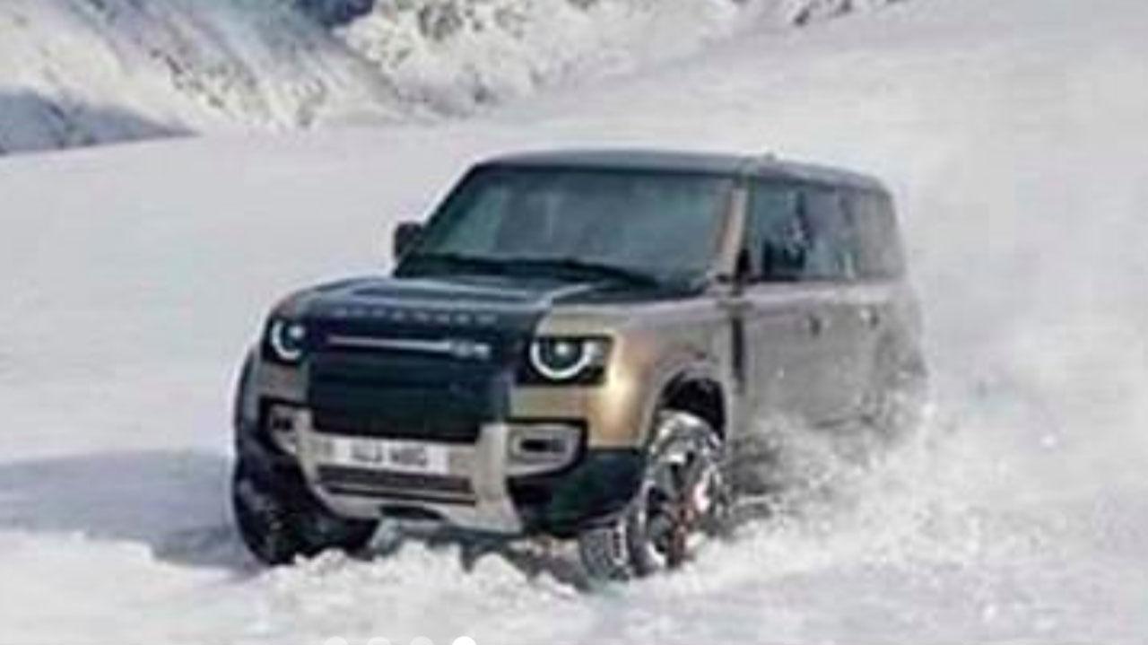 Fler läckta bilder på nya Land Rover Defender
