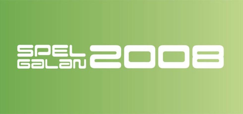 Spelgalan 2008 - de nominerade