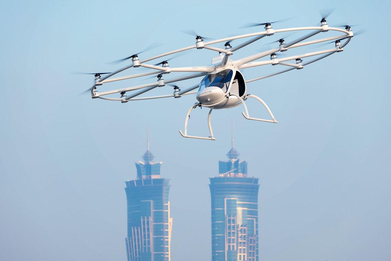 Daimler och Geely investerar i Volocopter