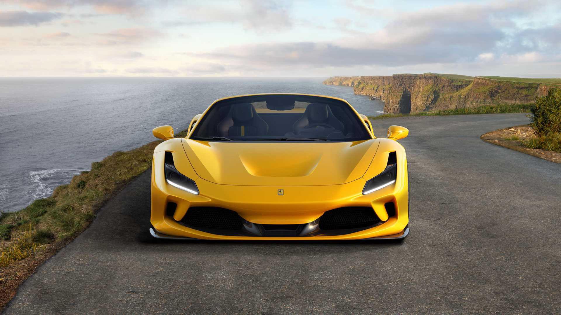 Ferrari presenterar F8 Spider