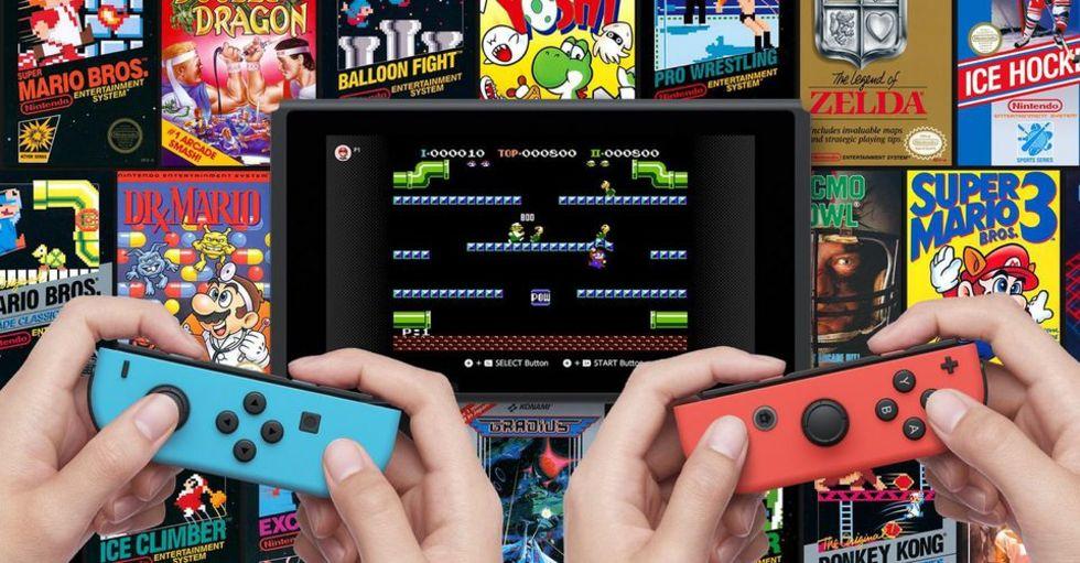 Nintendo slutar med månatlig utgivning av retrospel till Switch
