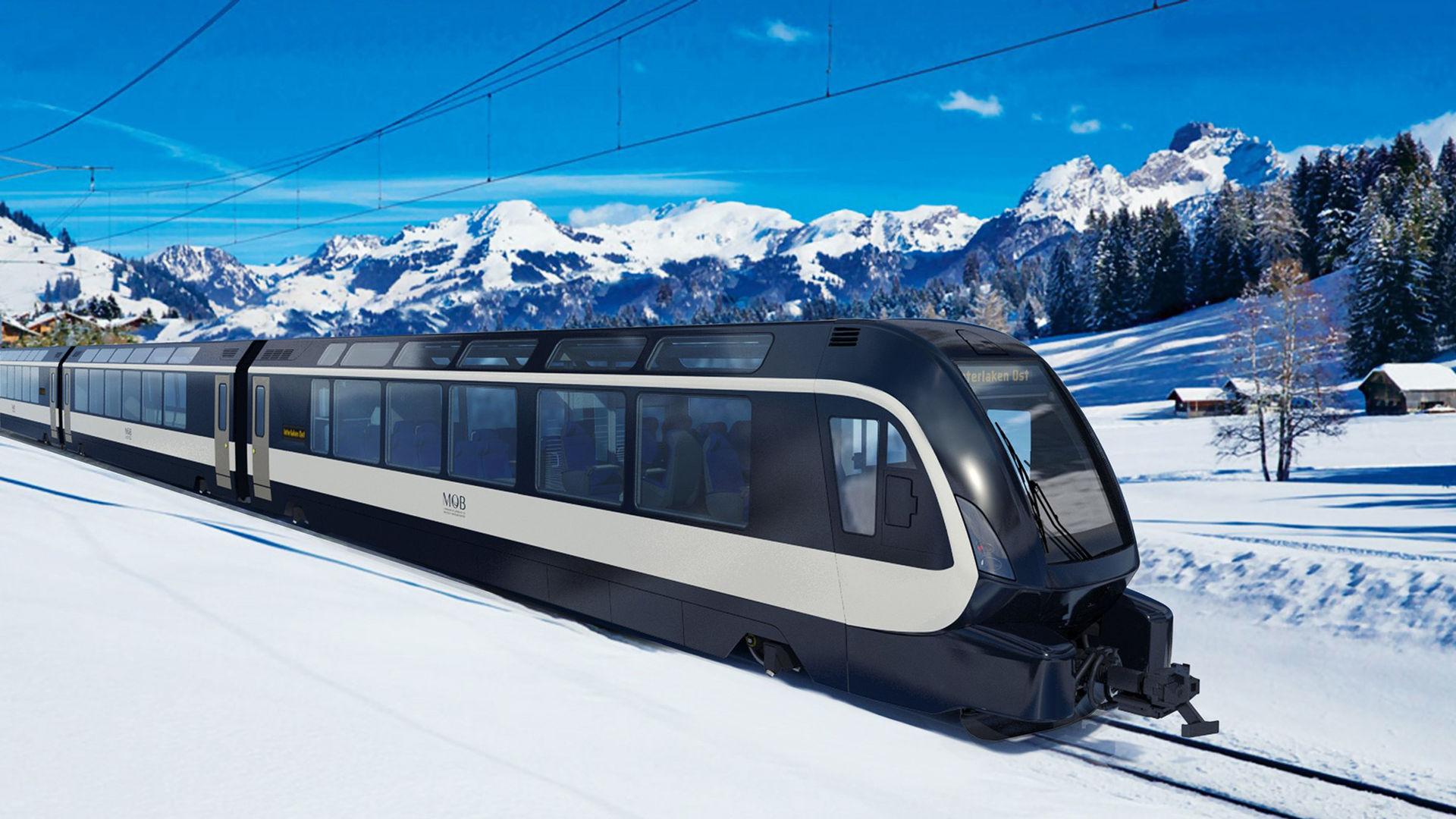 Pininfarinas nya tåg har Instagram-vänliga rutor