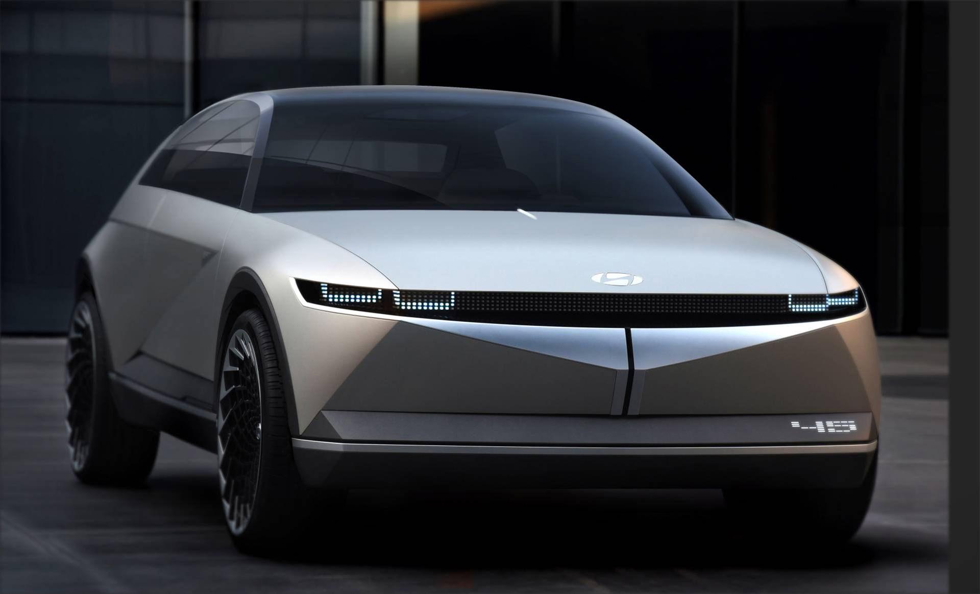 Hyundai visar upp sitt nya koncept 45