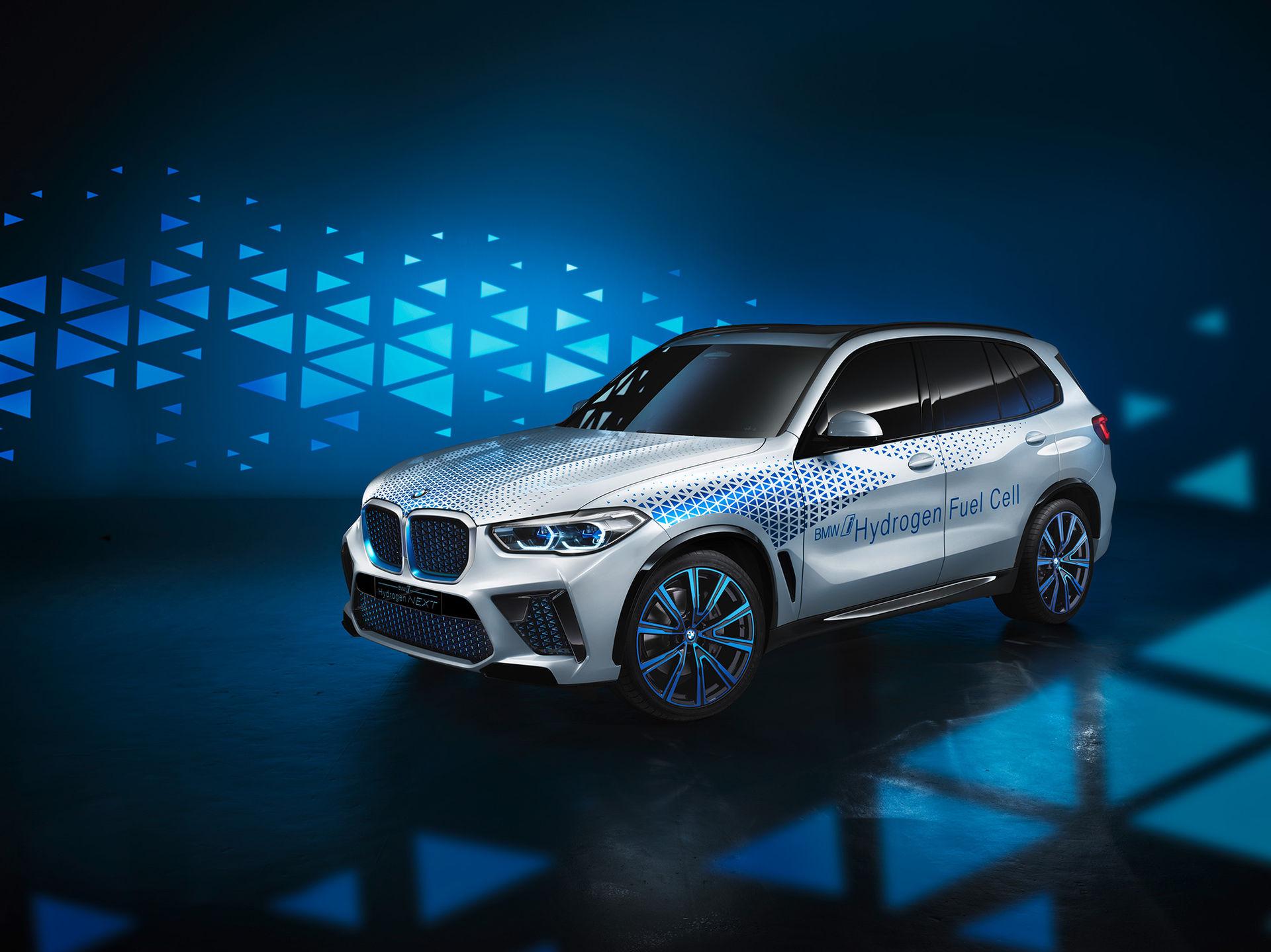BMW presenterar bränslecellsbilen i Hydrogen NEXT