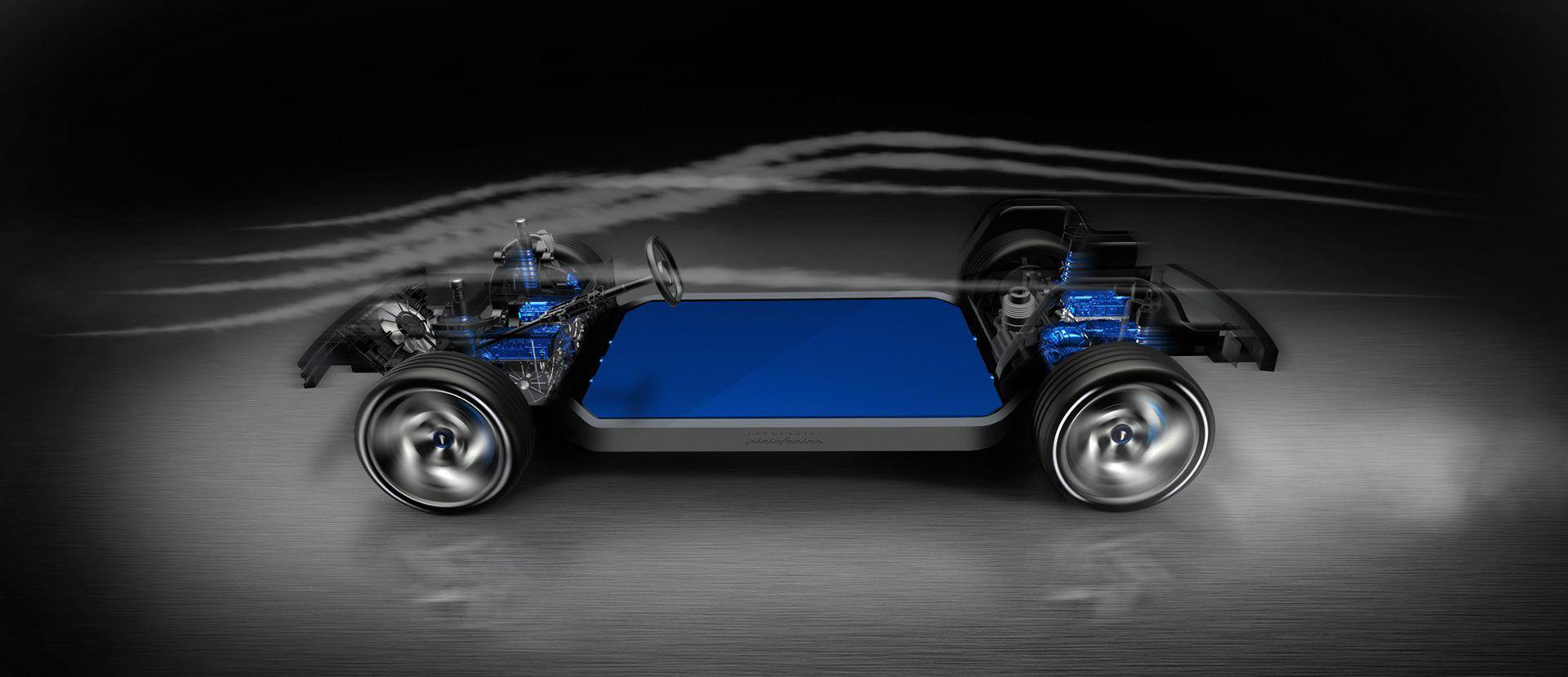Pininfarina presenterar elbilsplattform