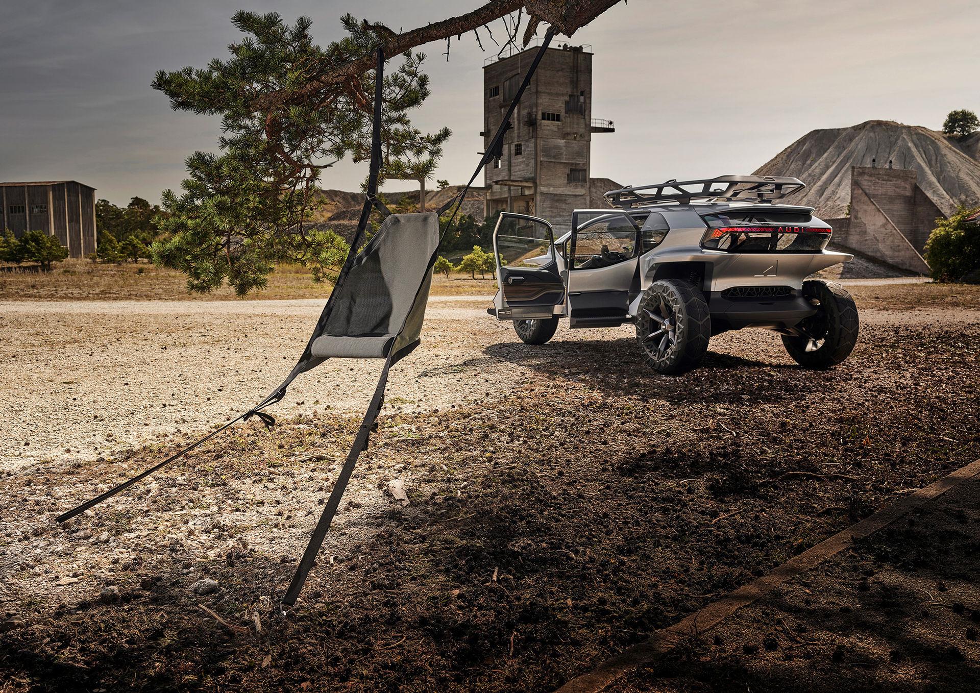 Audi visar framtidens offroadbil