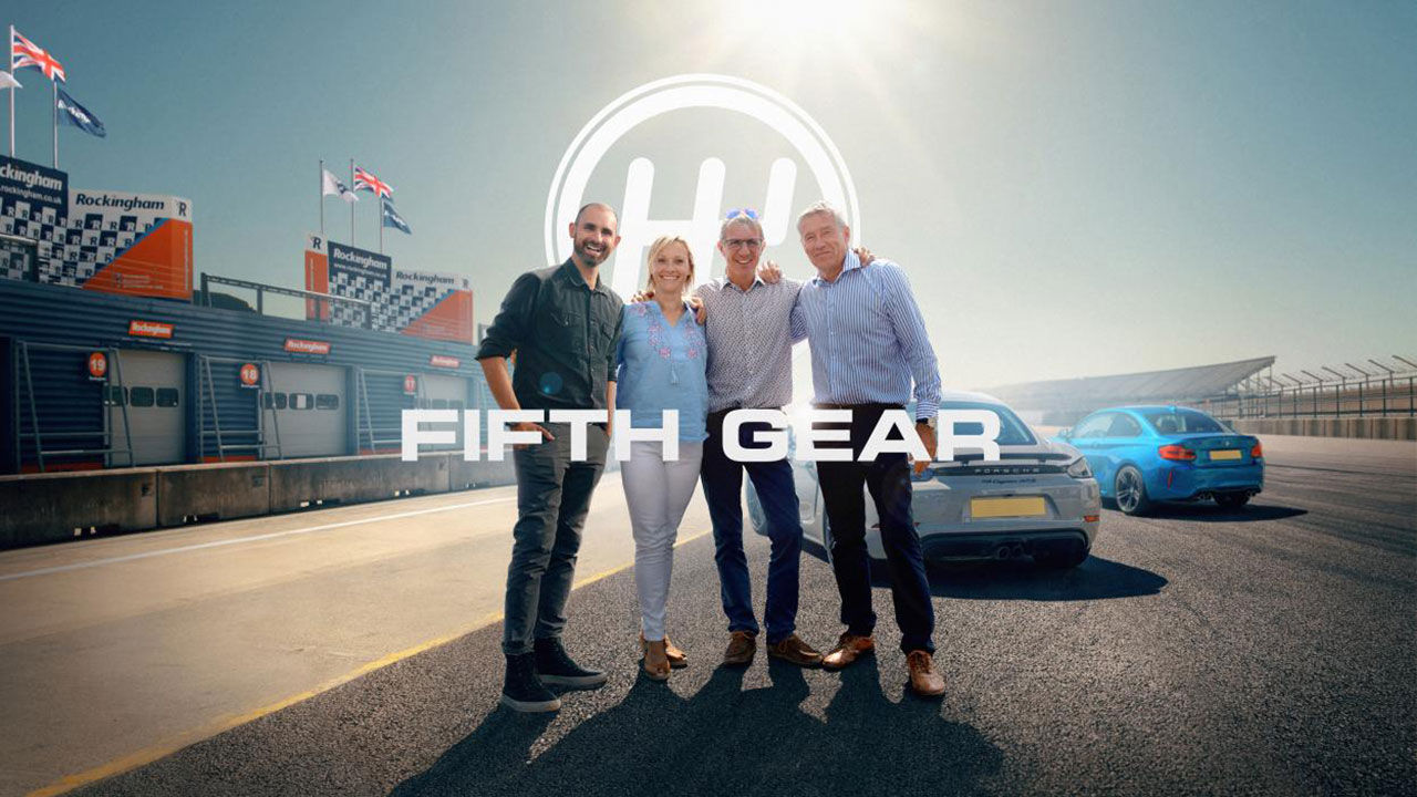 Tiff Needell har fått kicken från Fifth Gear